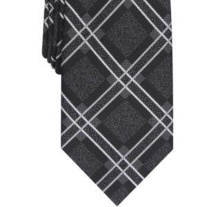 Perry Ellis Men's Denner Classic Plaid Tie